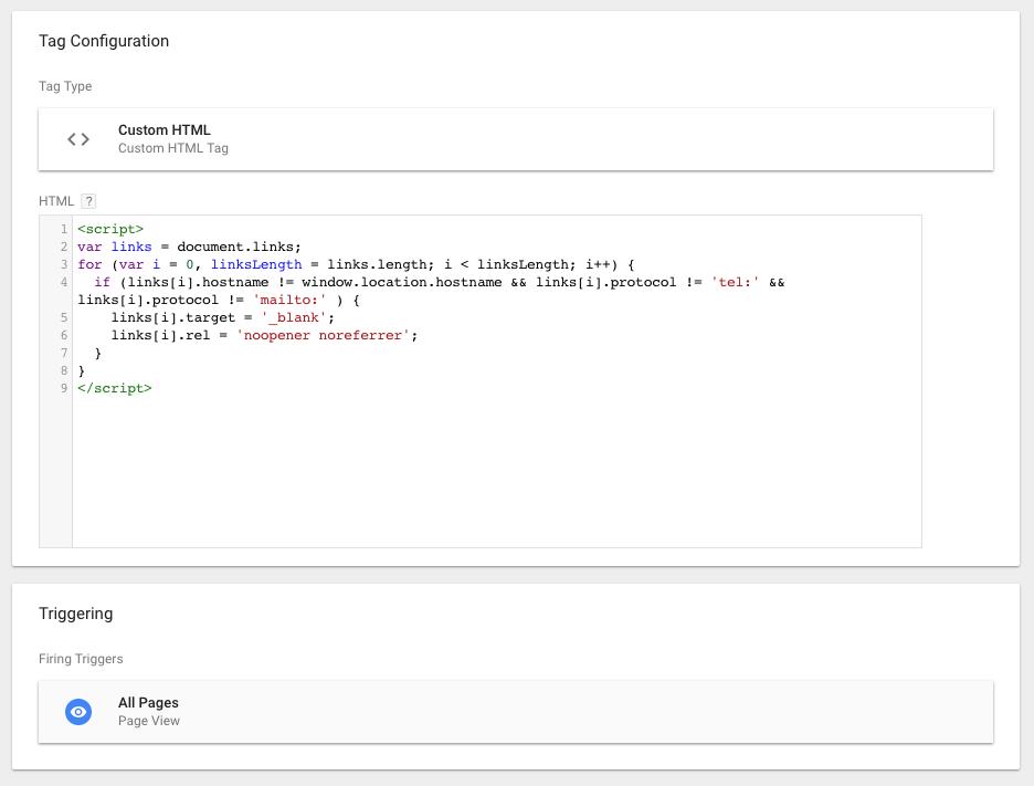 Step 8 Custom HTML